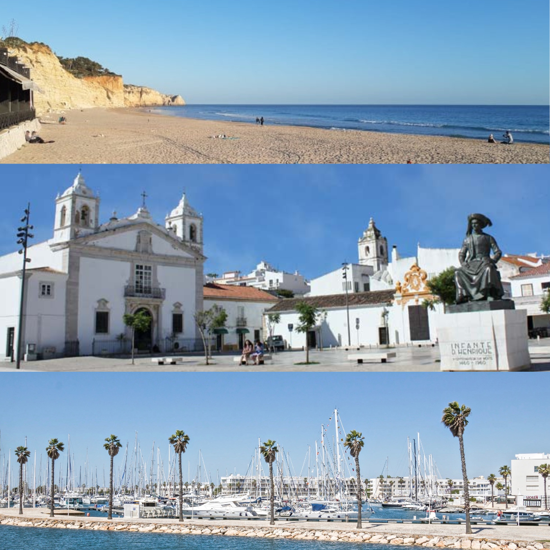 Have you heard of paradise? It does exist and it's not that far away! This place is called Algarve and for example Lagos with a beautiful historical centre, beaches and not to forget the cosy restaurants. We can help you to find your dream home. pic.twitter.com/zhT7PnvrNZ
