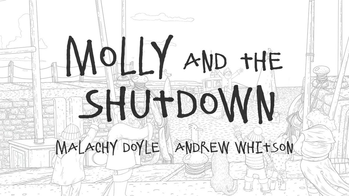 We've got a really special #BookTrustHomeTime treat for you! Malachy Doyle and @andrewwhitson92 have teamed up to create new book Molly and the Shutdown. Download the free PDF and colour in the illustrations whilst listening to Malachy read you the story! https://t.co/NkjGVtH0cB https://t.co/9Pmm5rl5Rw