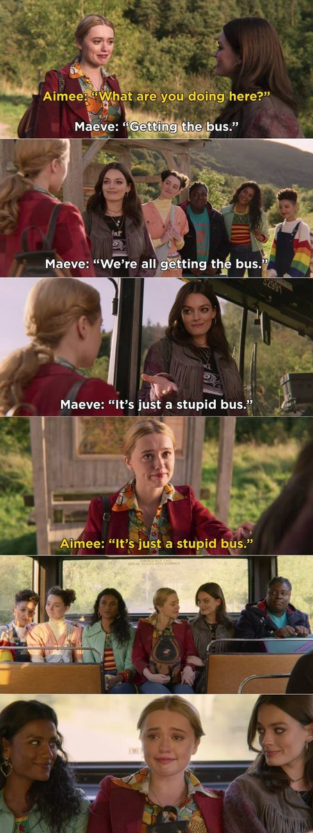 this bus scene. that's it. that's the tweet.