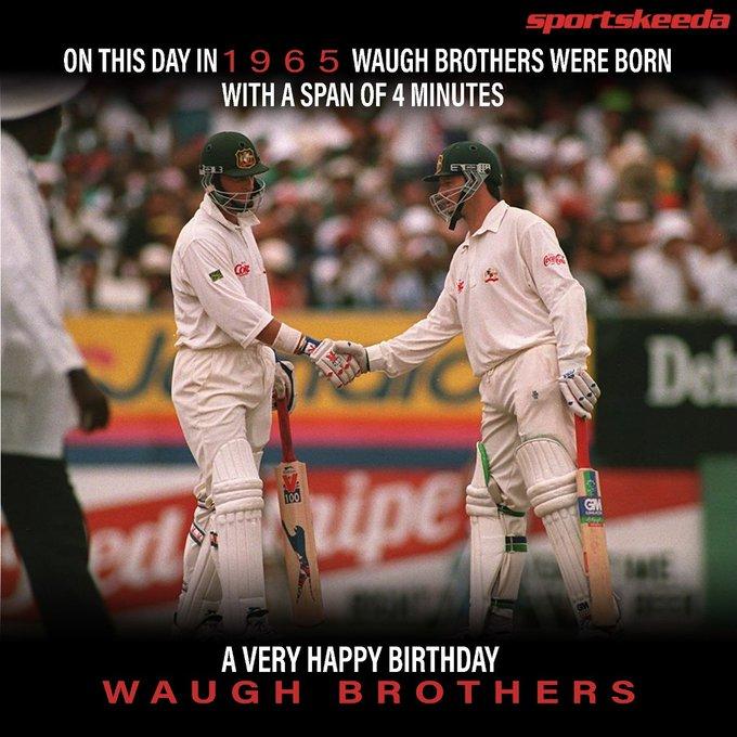 Happy Birthday and Steve Waugh :)