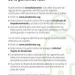 Image for the Tweet beginning: ¿Necesitas un certificado de empadronamiento?