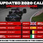 F1ヨーロッパラウンドの日程が発表されるもスケジュールが過密すぎる・・・