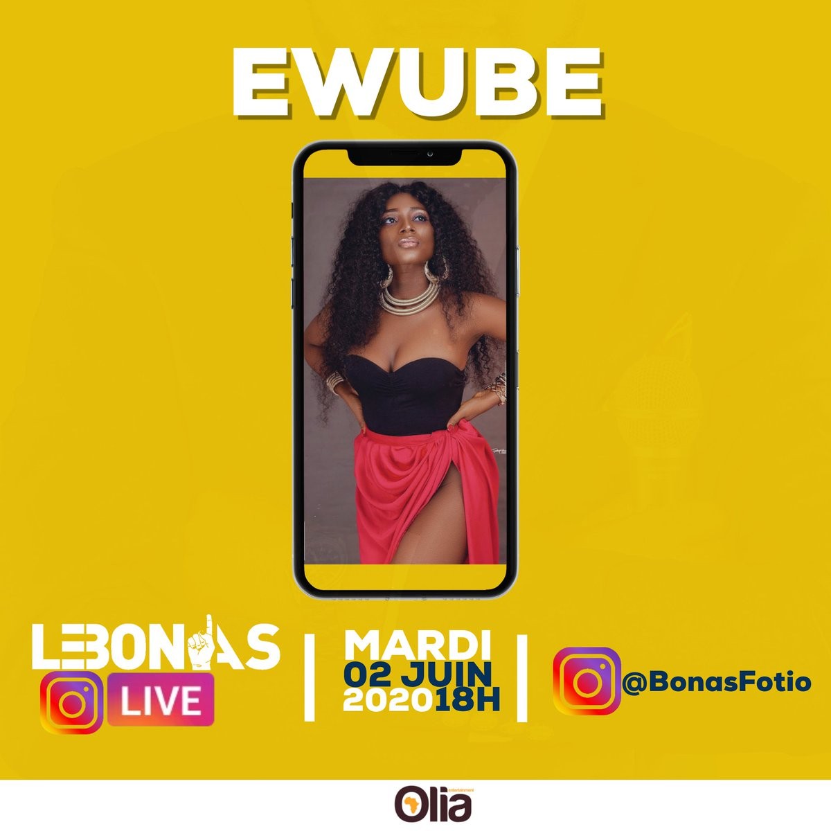 Ce soir, #LeBonAsLive sur Instagram avec Bonas Fotio et @Its_Ewube. Vibes afro-dancehall en vue ! 🔥  #LeBonAs https://t.co/yC4LydZIMe