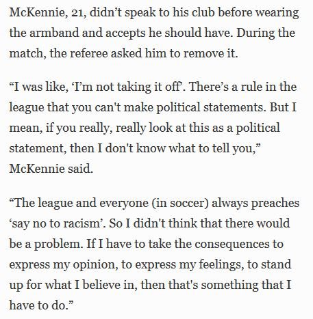 Here's @WMckennie knocking it out the park in this Forbes interview.