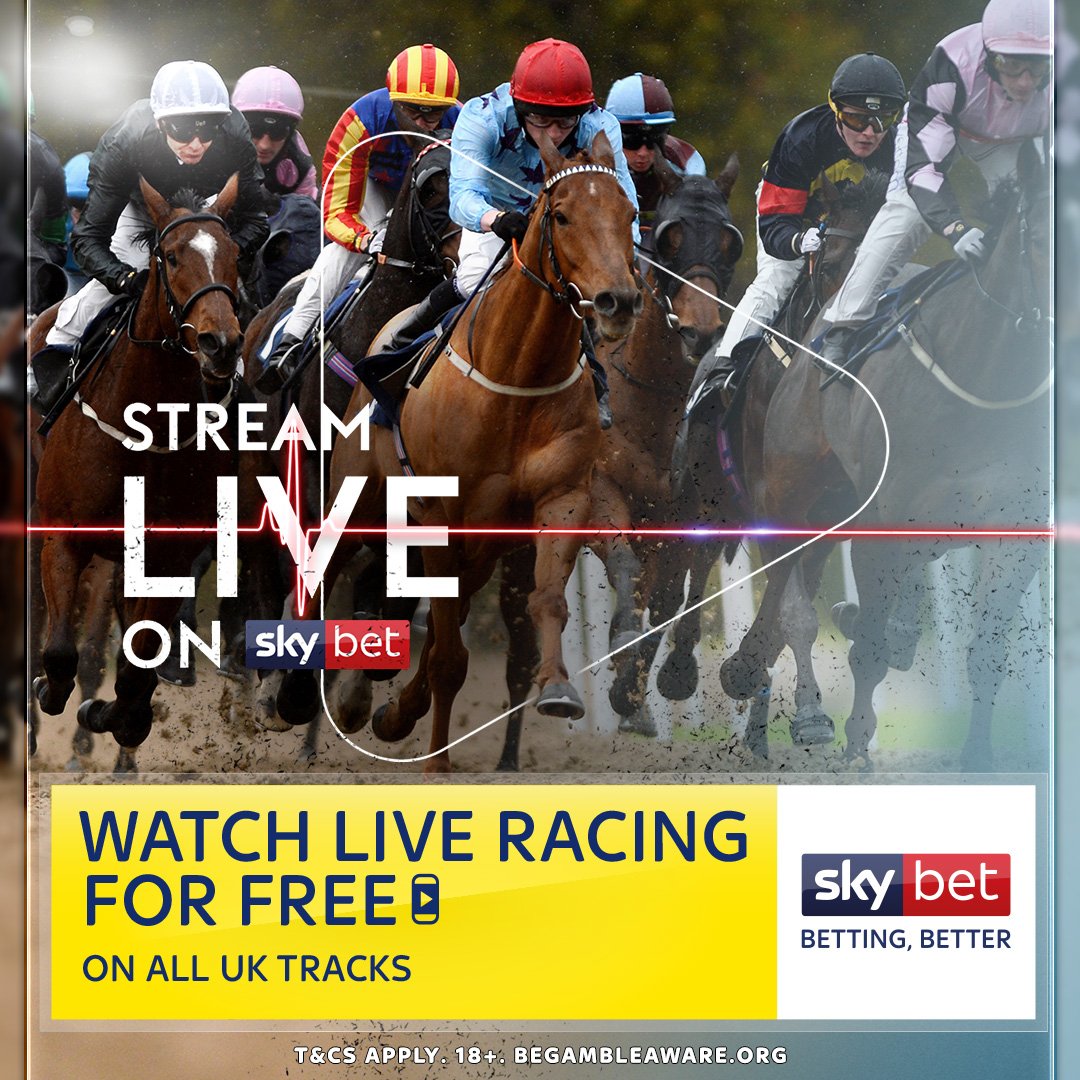 Calling all horse racing fans! 📢 British racing is back and weve got you covered 🏇 Watch live racing on Sky Bet for FREE 📺🙌