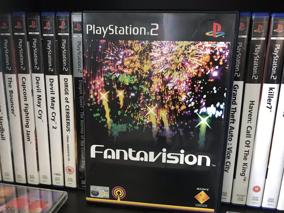 My pick for this weeks #Ps2sDay is Fantavision. A fun puzzle game involving matching the correct fireworks in time to try and cause chain reactions. It was one of the launch titles for the PS2 and still a real treat on the eyes. https://t.co/Op90rPyt3y