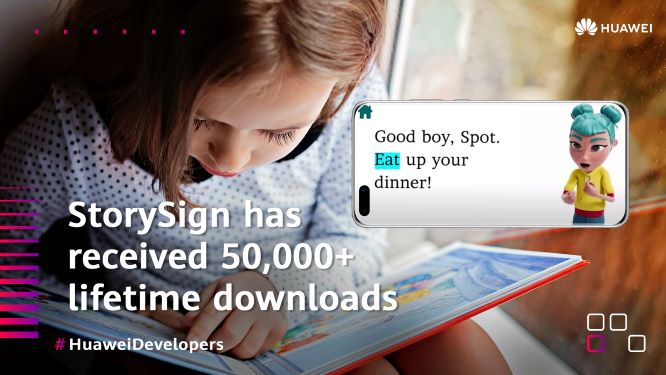 We live in a world powered by #apps ​​  And #AI is playing a big role!​  StorySign supports sign language translation of selected classics to help deaf children learn to read! ​  #HuaweiDeveloperspic.twitter.com/dAWPNlzqec