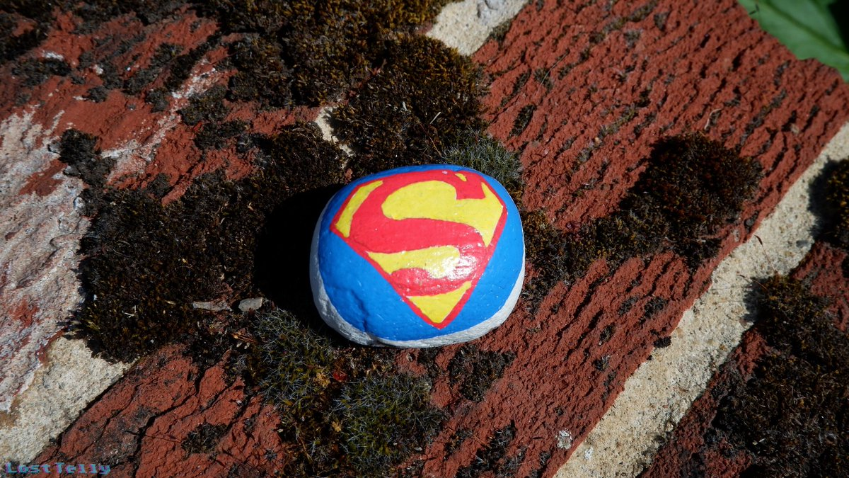 Look! No not up in the sky! It's not a bird! It's not a plane! It's Superrock! The Superman logo is practically perfect, spotting it made me smile #PhotoOfTheDay pic.twitter.com/QR9bXkCEpf