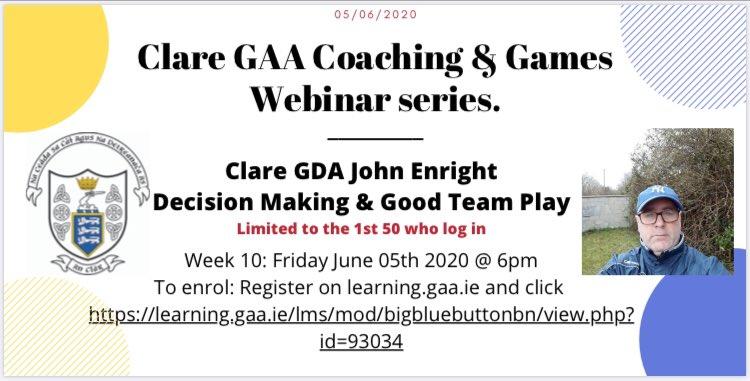 Clare GAA Coaching & Games Development - Posts | Facebook