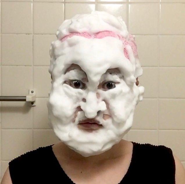 洗顔ものまね「かまいたち」①山内健司さん②濱家隆一さん