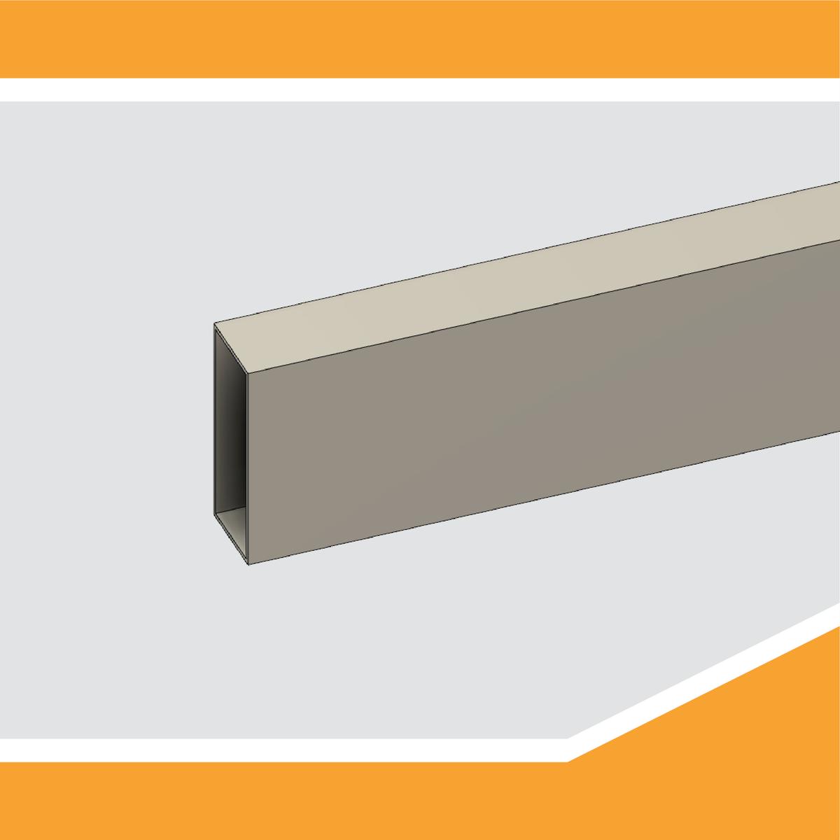 Il progetto CNC prosegue... Tubolare in alluminio per supportare i binari di scorrimento. #cnc #diy #fusion #fusion360 #autodesk #3Dprint #adskfusion360 #3Dparts #fusion360cam #homemadecnc #cnchomemade @adskFusion360