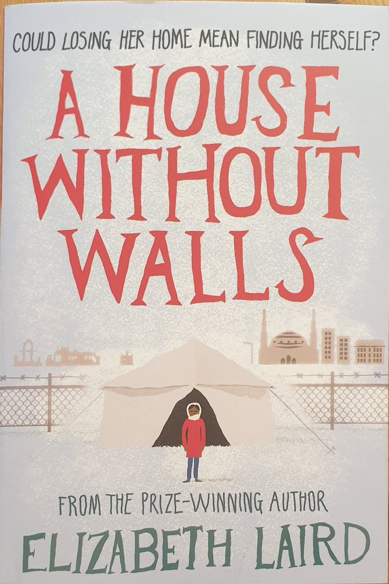 Just finished this lovely book by @EMRLaird. A family driven out of Syria to Jordan, covering the Syria civil war and following a young girl Safiya on how she coping with now being a refugee. Also, touches upon issues of mental health and family seperation. pic.twitter.com/7cOMD8SZI6