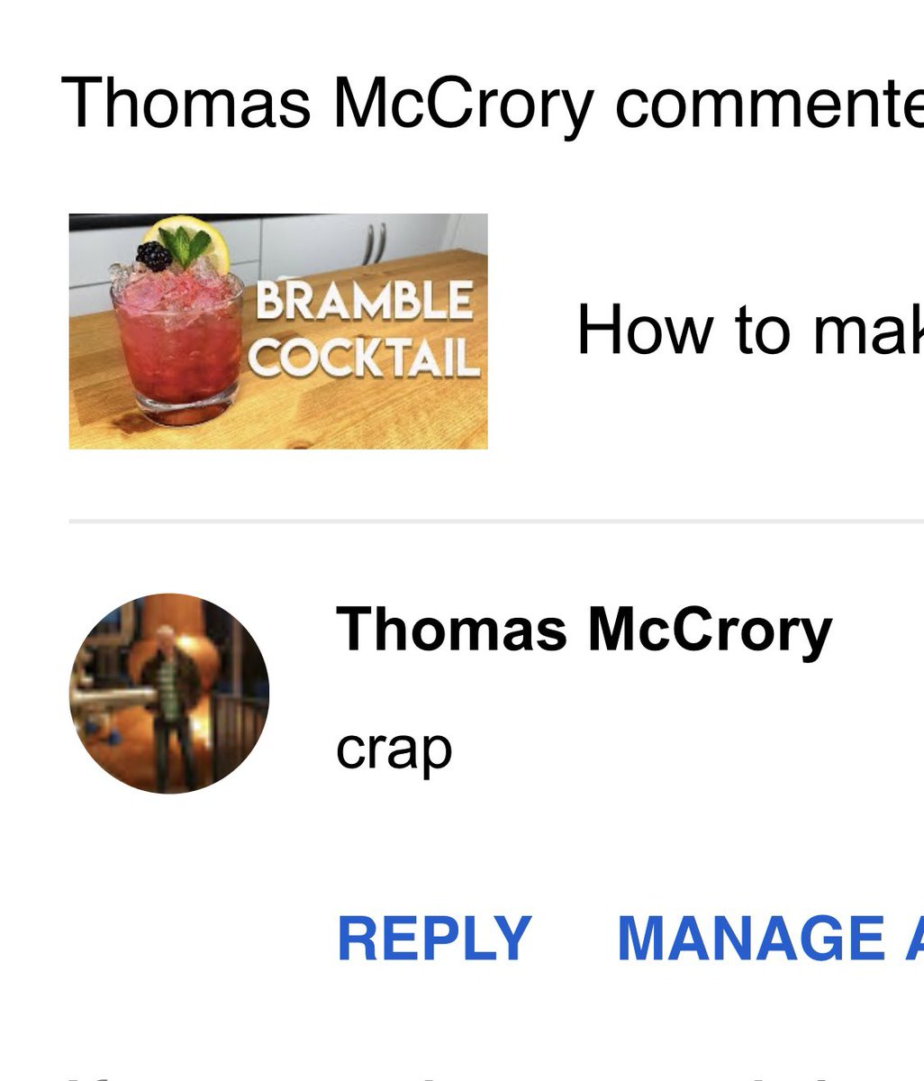 A lovely bit of constructive criticism from Thomas McCroy today. He's my biggest fan!   #gin #ginandtonic #gandt #booze #drink #drinks #drinking #alcohol #fun #nightout #ginandjuice #nightlife #drinkswithfriends #instagood #goodtimes #liquorpic.twitter.com/7G9yymAqrB