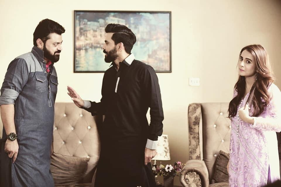 Faisal Iqbal فیصل اقبال On Twitter Drama Gher Damaad Directed By Syed Bilal Naqvi Channel Ptv Cricketer Fawad Alam Appearing On Tv Serial As An Actor I Wish Him
