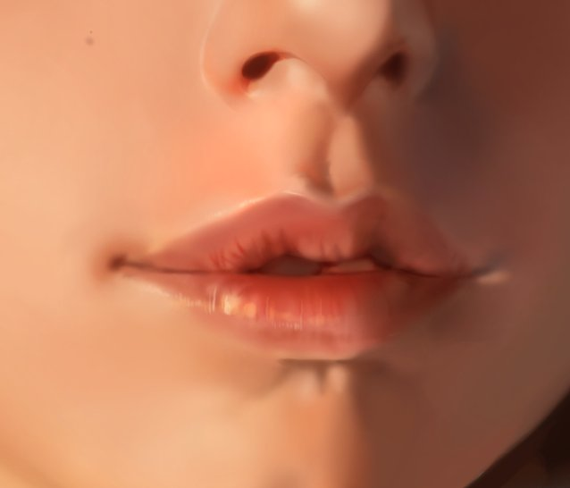#wip #lips i can only send wips like these its taking me so much time im heaving https://t.co/I1R5R3qpBZ