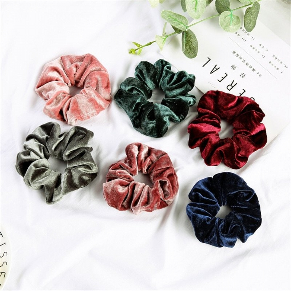 #hair #specialists #wigs #extensions #eyelashes #lashes #goodies #straight #remy #curly #love #salon #hairaccessories #hairproducts #lovehair #bodypositive Women Soft Velvet Elastic Scrunchies