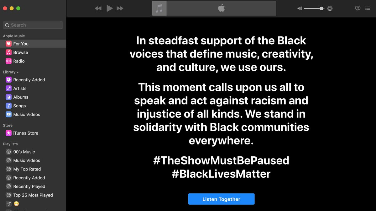 Apple Music, Spotify, YouTube, Amazon and more unite in support of Blackout