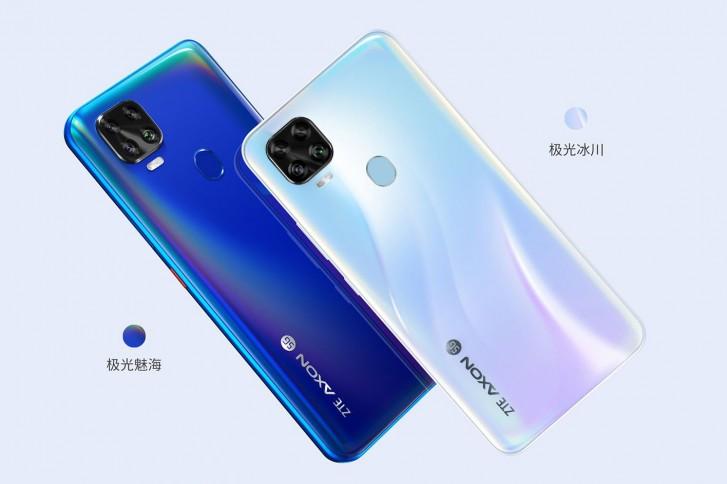شركة ZTE تكشف عن الهاتف Axon 11 SE 5G - شاشة 6.53 FHD+ من نوع LCD - معالج Dimensity 800 من ميدياتك - رام 6/8GB سعة 128/256GB - كاميرا خلفية رباعية 48MP وأمامية 16MP - بطارية 4000mAh شحن سريع متوفر للبيع في الصين والأسعار رام 6 + سعة 128 بسعر 280$ رام 8 + سعة 256 بسعر 324$