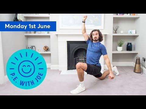 PE With Joe | Monday 1st June https://www.crowknow.com/video/12377/pe-with-joe-monday-1st-june…  #hobbies pic.twitter.com/p9LepfH97U