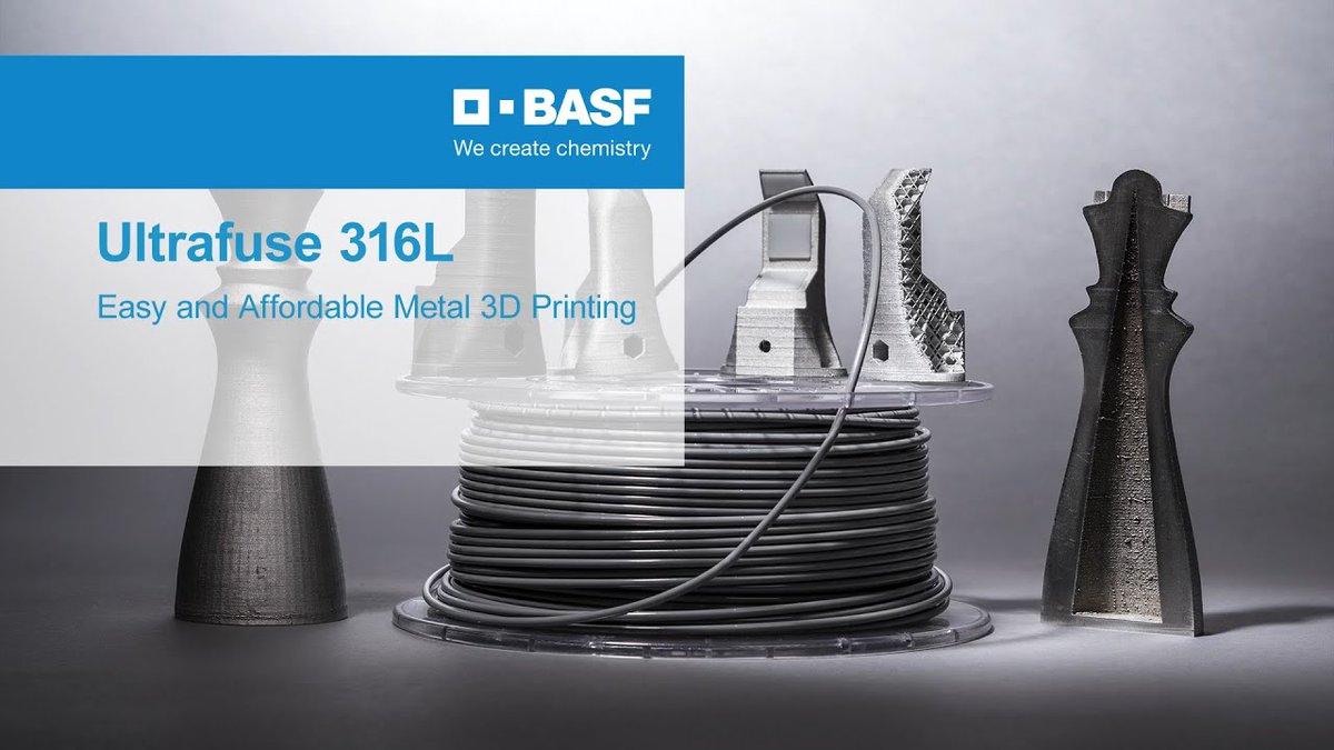 Print metal on a desktop #3DPrinter with @BASF_ForwardAM Ultrafuse #316L   Find out more here:   #3dprinting #3dprint #3dprinter #metal3d #additivemanufacturing #ultimaker #printmetal