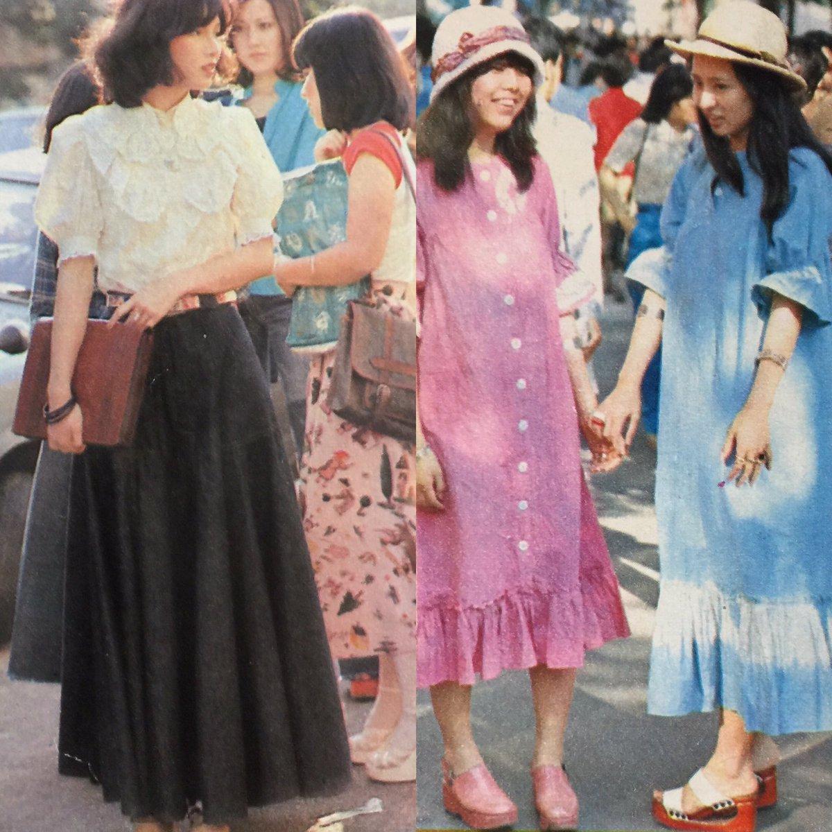 街で見かけた女の子1974夏