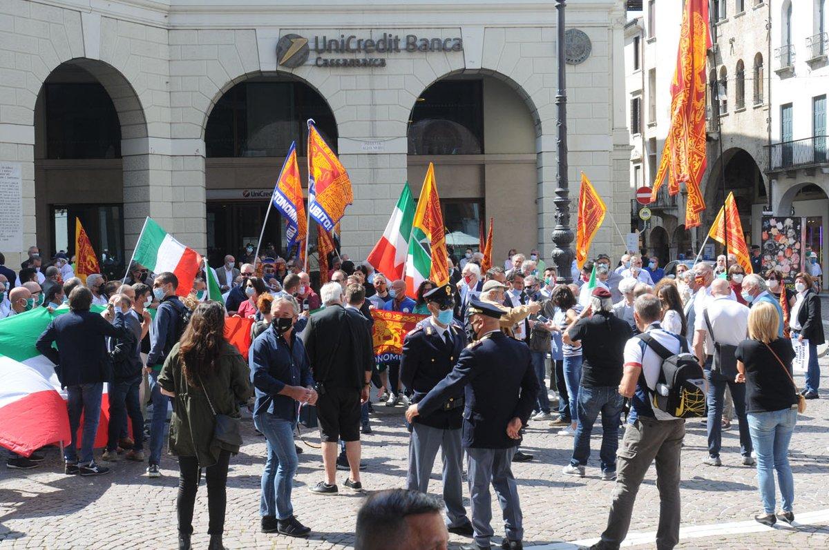#Veneto, le manifestazioni del #centrodestra https...
