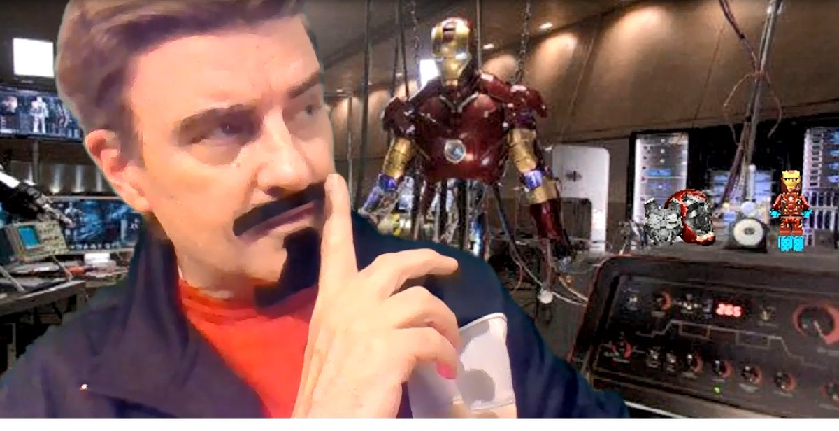 Brought in a special guest #MorningMessage Announcer today. #Antman got a hold of Cap's shield and #Thor left his hammer lying around the shop. Thanks #TonyStark for filling in! #QuarantinedTeacher  #tlap #bfc530 <br>http://pic.twitter.com/HlS104osua