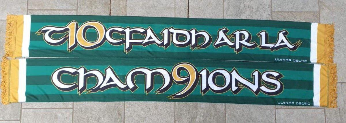 Final restock of the Green Brigade 'cham9ions' silk scarves - £15  Online shop link: https://t.co/cVnunMG2eM https://t.co/Tq0vuLFjOF
