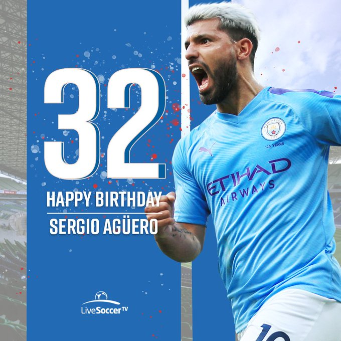 Happy birthday, Sergio Aguero  Is he the best foreign striker in Premier League history?