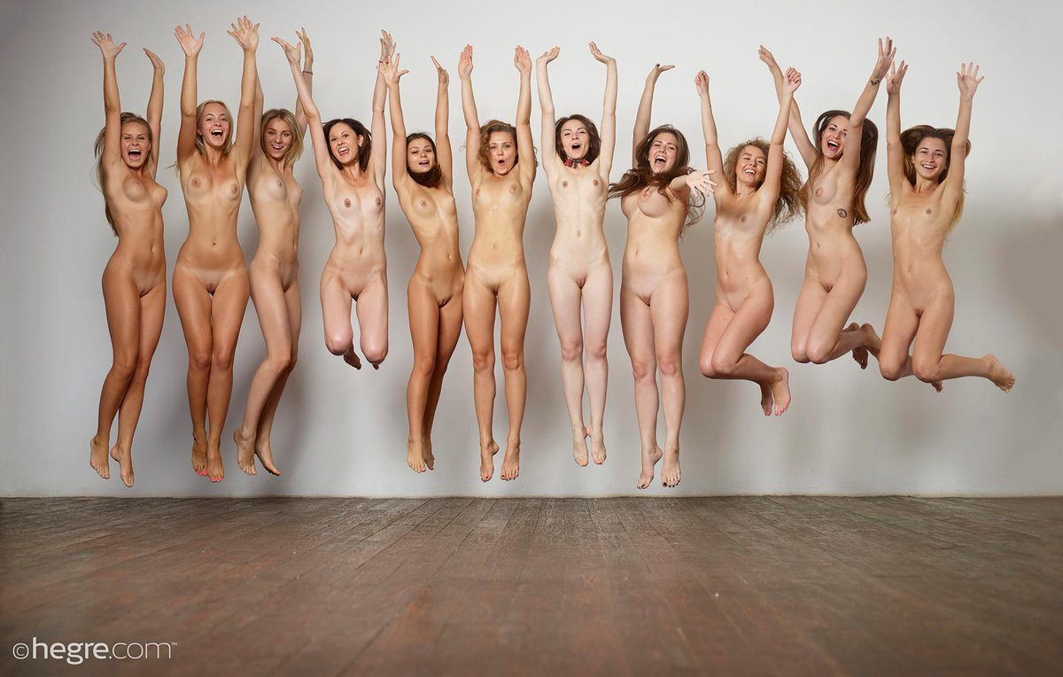 University sports team naked for charity