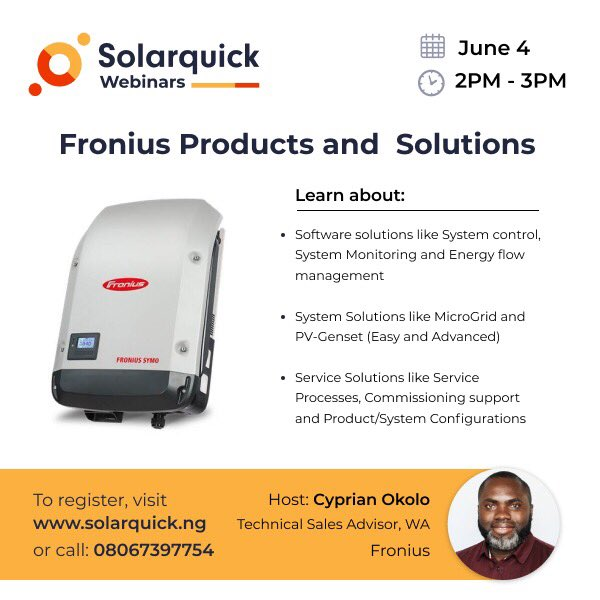How do you configure data communication for overall monitoring in the Fronius Solar.web portal?   Join our webinar on Thursday to find out how!   RSVP at http://solarquick.ng/webinarspic.twitter.com/3jeEmQIvHA
