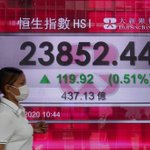 Image for the Tweet beginning: Global shares rise as more