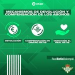 Image for the Tweet beginning: 📢 El #Betis pone en
