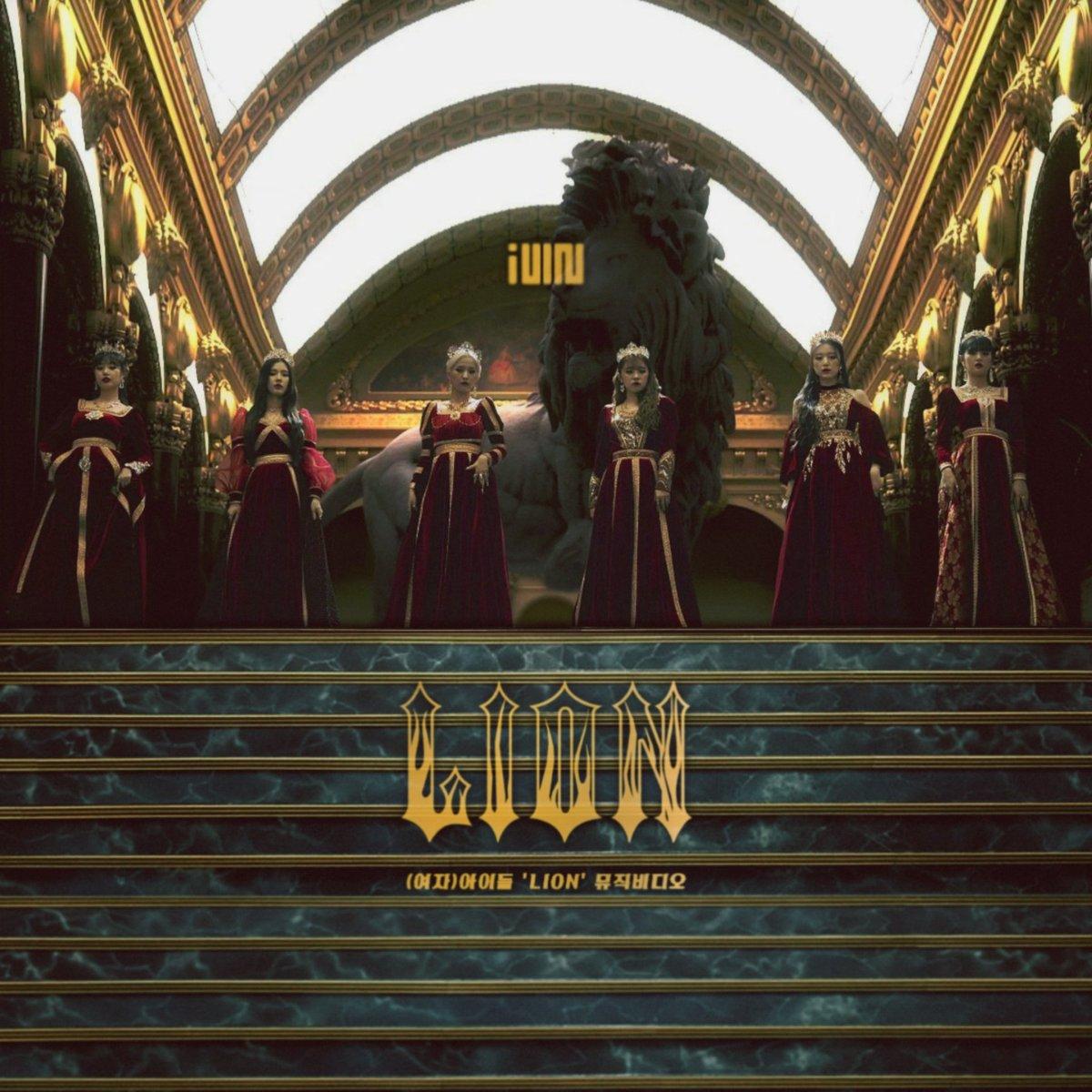 (G)I-DLE LION - album cover  Watch on my deviantart : https://www.deviantart.com/lealbum  #GIDLE #LION #QUEENDOM pic.twitter.com/hGaYtjgUBT