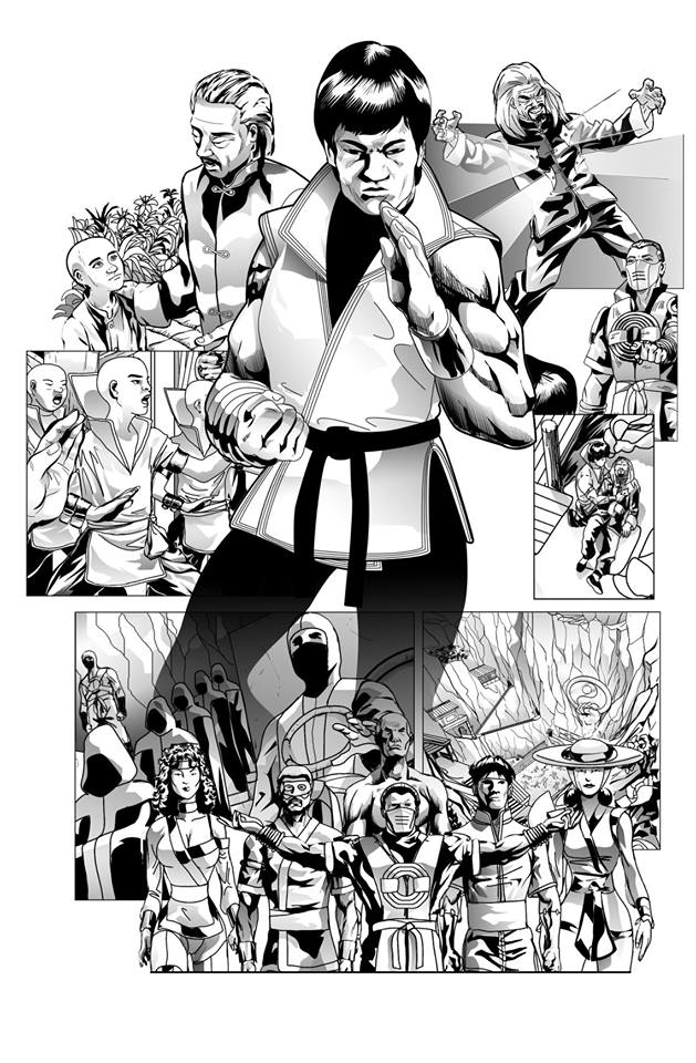 Work on FIST OF THE DRAGON #2 is proceeding and hopefully we can still get this out by the end of the year. COVID-19 brought this book to a temporary halt but we are back and clicking! #martialarts #comic #comics #comicbooks #action pic.twitter.com/3ZiIV1Iscl