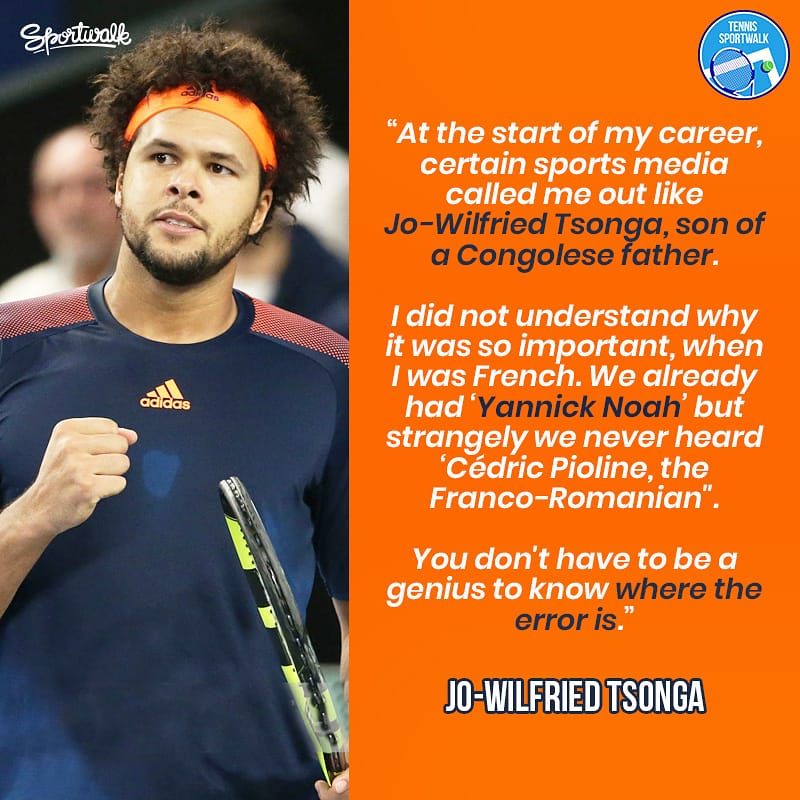 @tsonga7 opens up on facing racism in his tennis career.   Getty | #blacklivesmatter #racism #justiceforgeorgefloyd #tsonga #djokovic #nadal #federer #atp #atptour #tenis #tennis #Sportwalkpic.twitter.com/pdZTkJq3Wk