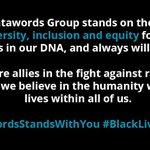 Image for the Tweet beginning: #DatawordsStandsWithYou #BlackLivesMatter