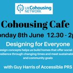 Image for the Tweet beginning: Next Monday at the #Cohousing