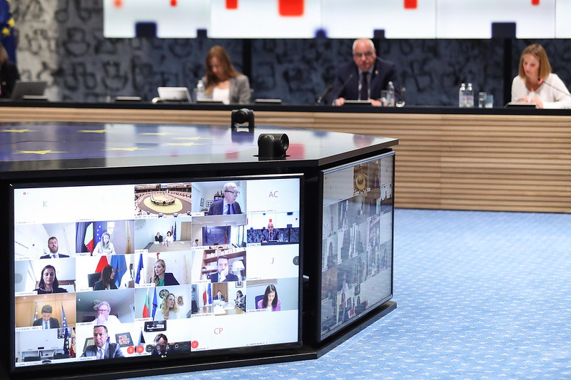 Today the second informal videoconference of Sport Ministers was held, addressing the impact of the #COVID19 pandemic on the #sport sector. Read more  https://eu2020.hr/Home/OneNews?id=316…pic.twitter.com/zPQHCzZUqc