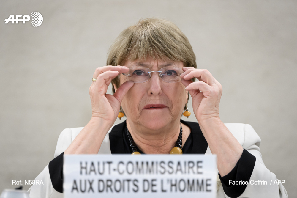 #BREAKING Coronavirus, protests lay bare 'endemic racial discrimination' in US: UN rights chief Bachelet