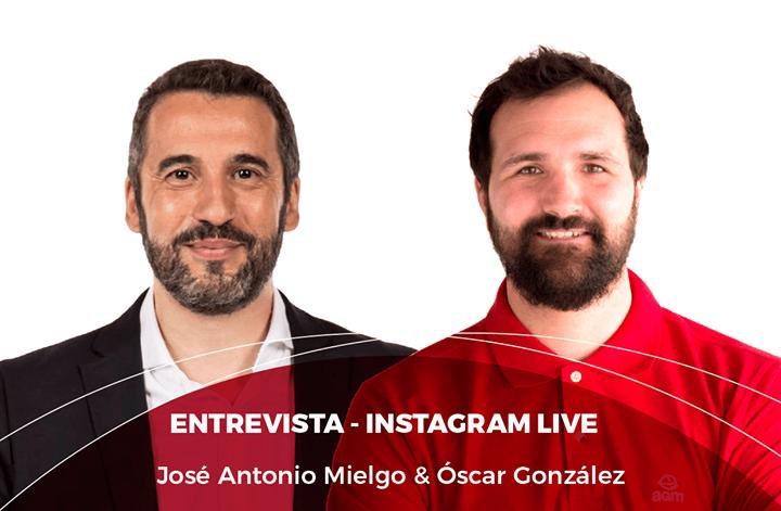 La serie no para. Esta tarde, a las 19:00 en la cuenta de Instagram de @AGM_Educacion un nuevo encuentro. Voy a hablar hasta de fútbol... https://t.co/eUMQDUizoe