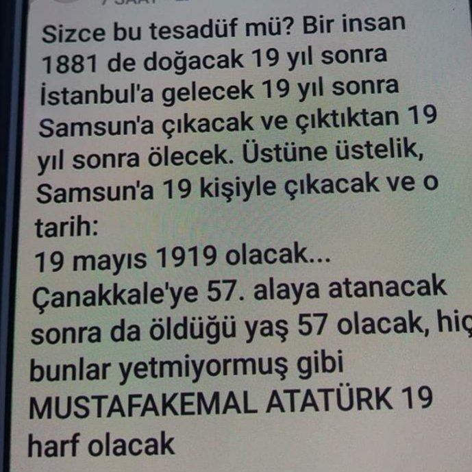 Atatürk'ü anlamak demek zeka ile  Atatürk'e ulaşmak  demek bilim ile Atatürkçü olmak ise tamamen şeref ile olur Işte sırf bu sebepler ile ayrışmak bize onur size fazla gelir. Vesselam ❤  Atatürk'e minnettar olan tüm dostlara selam ve saygılar 🙋♀️  #KemalizmSizeBolGelir https://t.co/9xGwJeRbfY