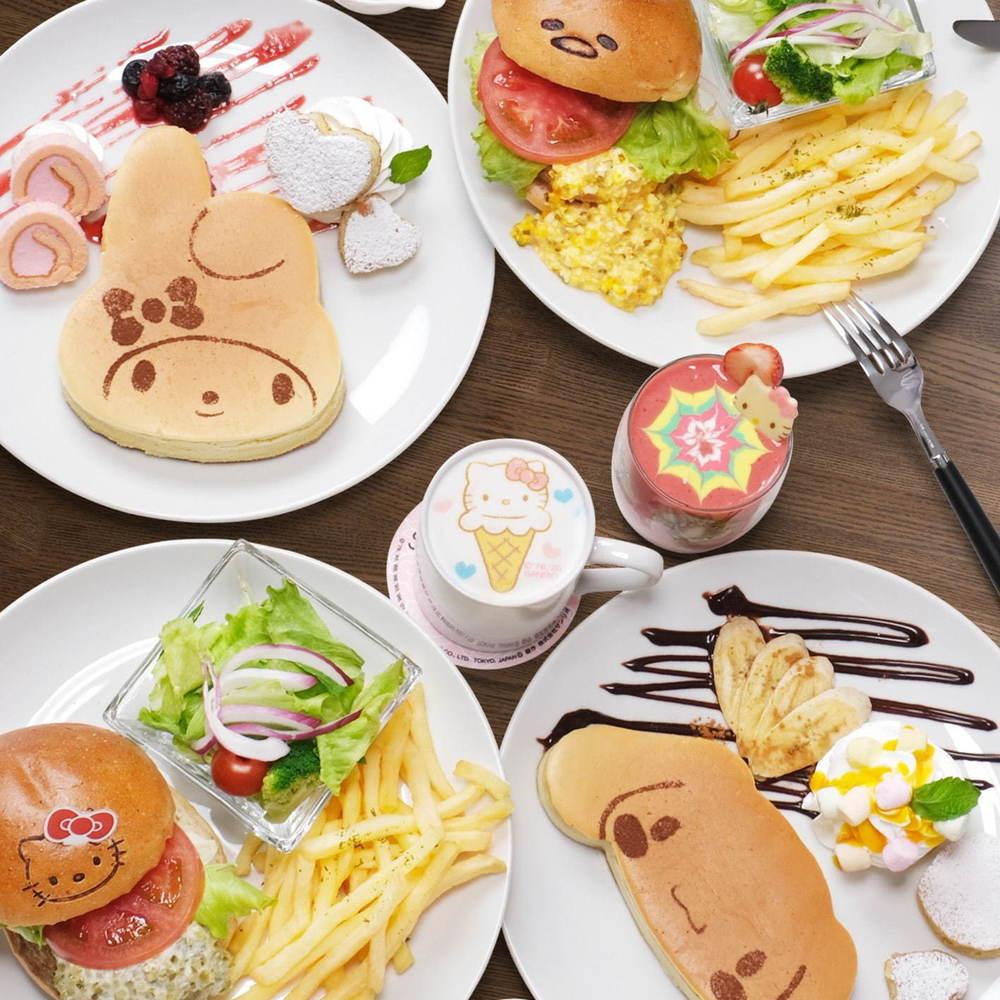 「サンリオカフェ」が東京・池袋のサンシャインシティに、カフェスペース&テイクアウト専門ワゴン -