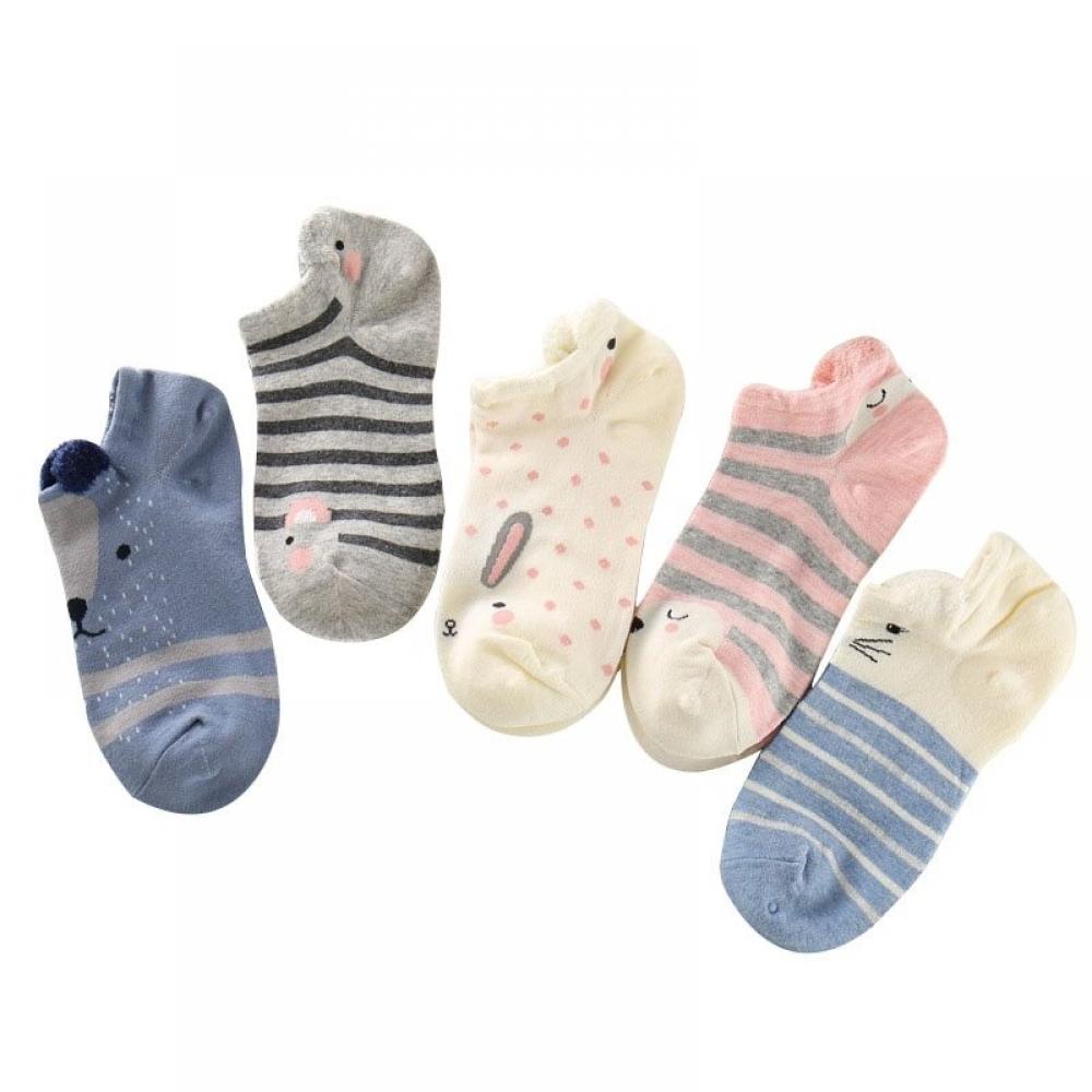 #fashion #naruto Women's Cartoon Animal Patterned Ankle Socks Setpic.twitter.com/G05pl9QmrQ