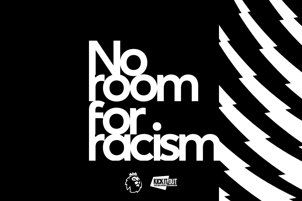 The Premier League stands alongside all those who are opposed to discrimination in any form. There is no room for racism, anywhere. #NoRoomForRacism