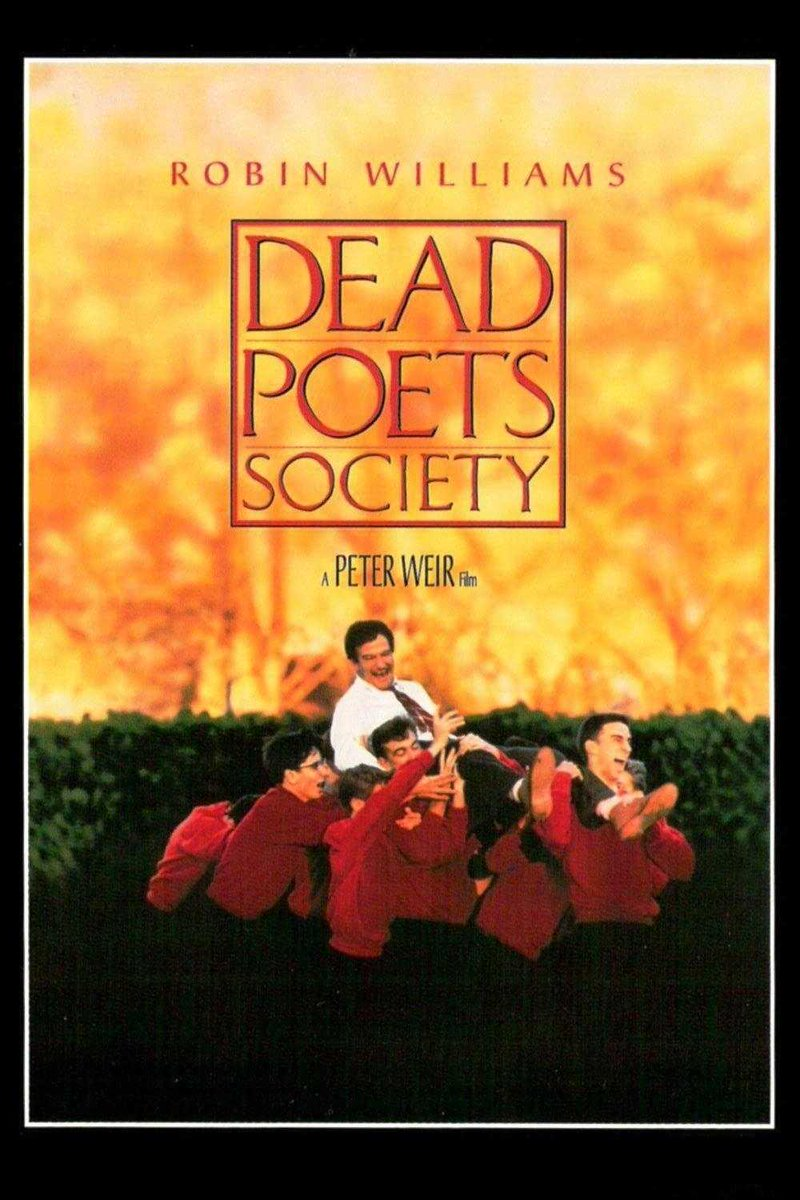 """Dead Poets Society"" starring Robin Williams was released in theatres today back in 1989. The film had the 5th highest gate receipts globally in 1989. #80s #80smoviespic.twitter.com/FSjQDWLx2U"