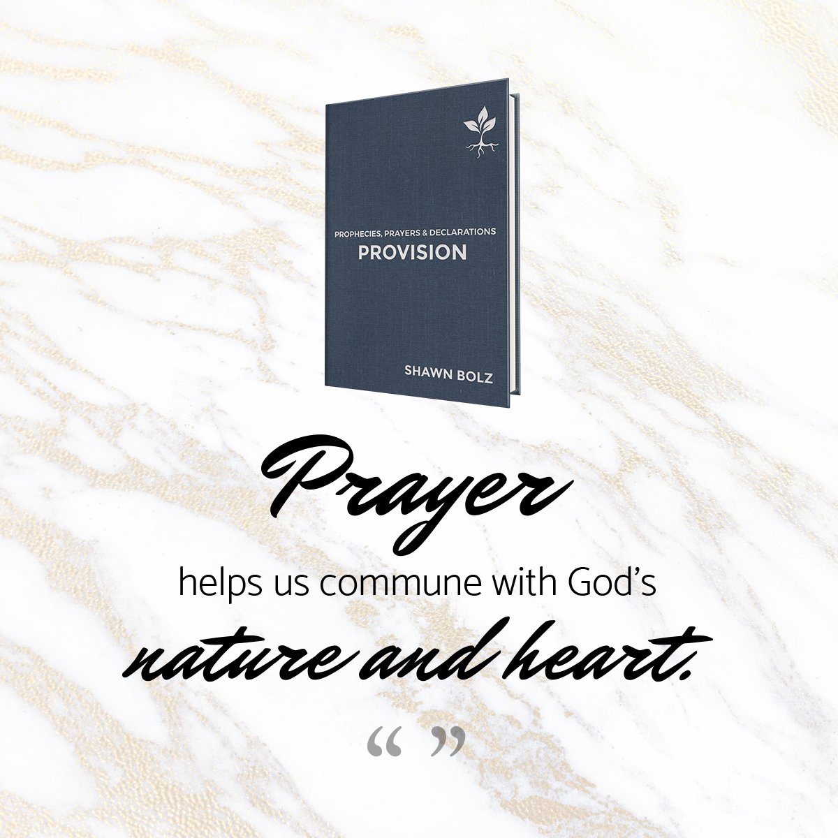 Prayer helps us commune with God's nature and heart! PROVISION ----> bit.ly/2zif1Jh