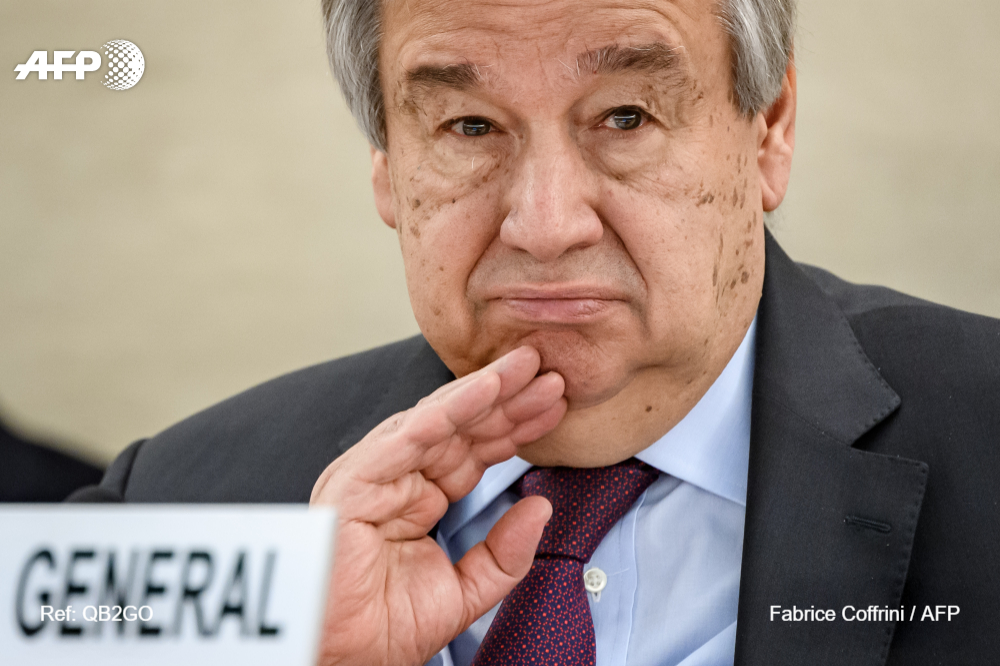 #BREAKING Aid workers face 'race against time' to prevent catastrophe in war, virus-hit Yemen: UN chief