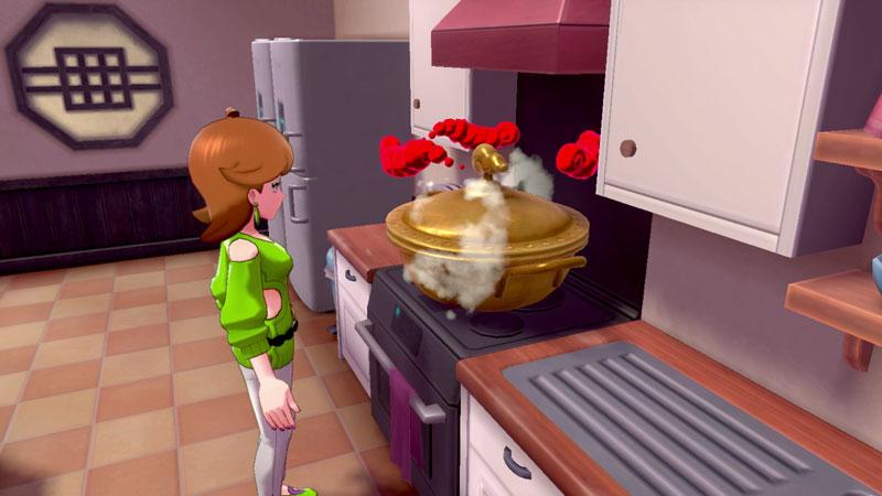 #ダイスープ はヨロイじまにある珍しい食材を集めて作ることができる特別な料理です🍲  キョダイマックスの可能性を秘めたポケモンがダイスープを飲むと… なんと‼ キョダイマックスすることができる特別なポケモンになります😲🙌   #ポケモン剣盾