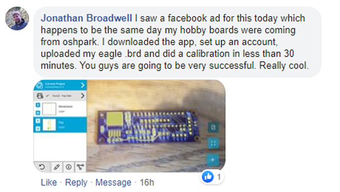 We love our users!  @oshpark  #electronics #engineering #electrical #ElectricalEngineering #AugmentedReality #engineer #hardware #firmware #pcb #pcba #pcbassembly #debugging #printedcircuitboard #circuits #tools #inspectAR #IoT #4IR #integratedcircuitpic.twitter.com/BOzCzMIbBi